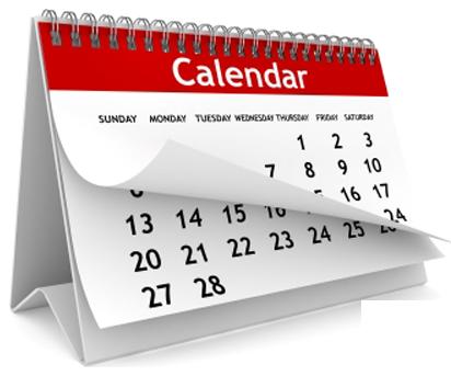 calendario 2020 VISUAL MERCHANDISING